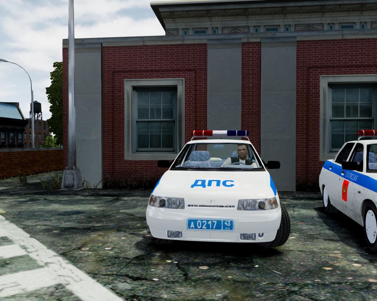 Ваз-2170 приора police для gta 4.
