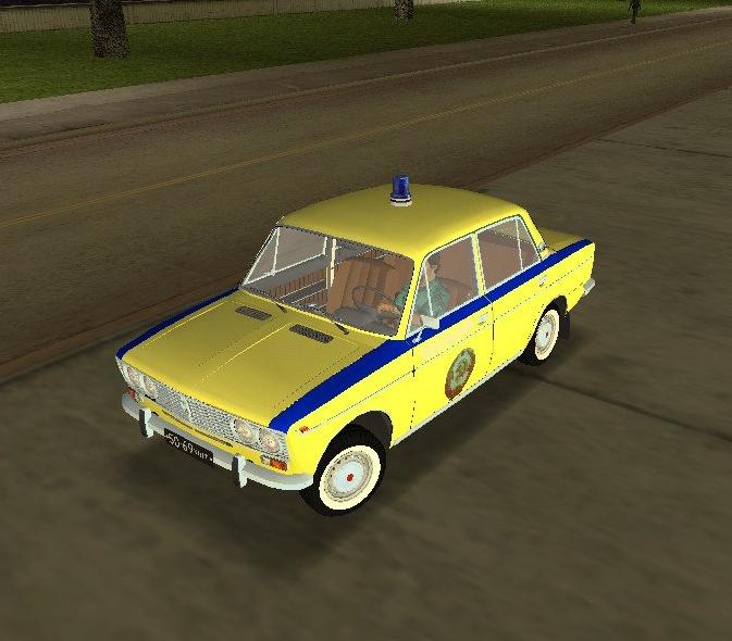 Советская милиция ваз 2103 для gta vice city